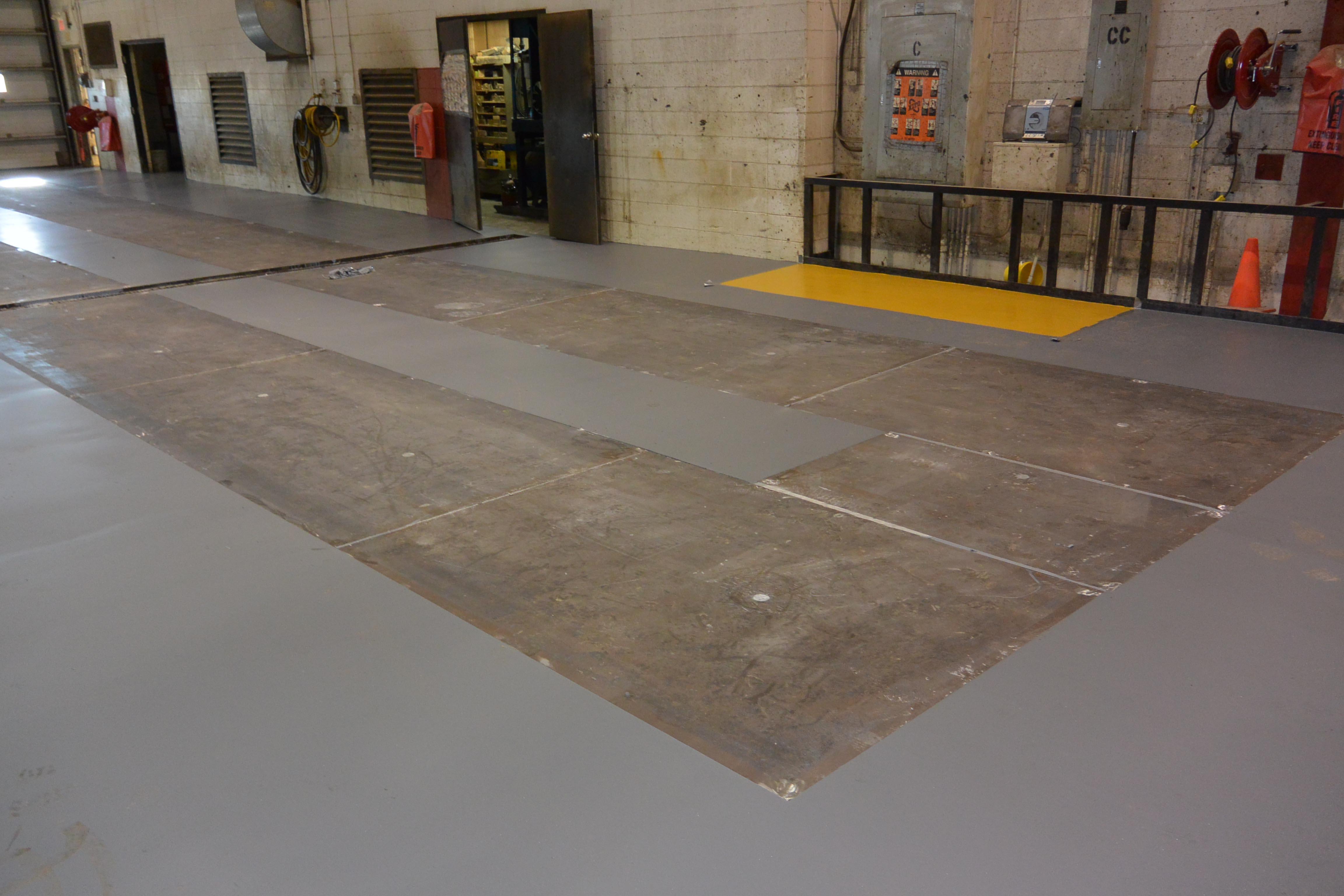 Hybrid Steel Flooring